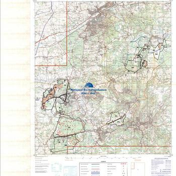 Surrey Commons Longmoor Internediate Training Area, collectie United Kingdom Training Areas  1:25.000