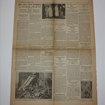 De Volkskrant, 7 oktober 1940, pagina 5-6