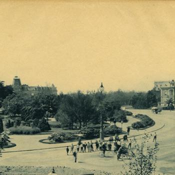 Nijmegen, Keizer Karelplein voor de oorlog
