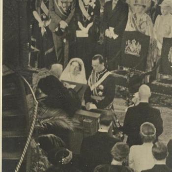 3 januari 1937, huwelijk, Prinses Juliana, Prins Bernhard