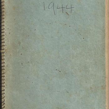 Dagboek over de periode van 1941-1945 van Peter Aarts    boekje 3