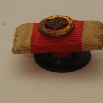 Baton, Duits, Rode Kruis, met hakenkruis