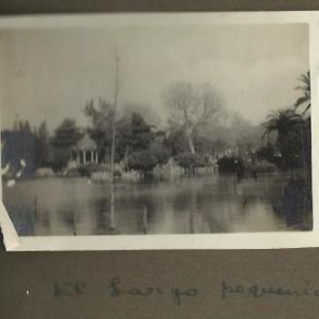 foto meer in park, 1928