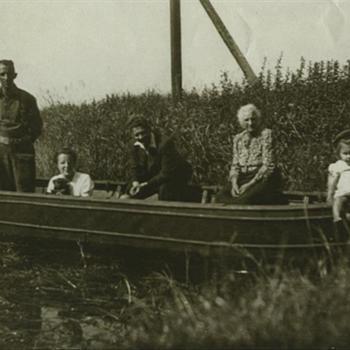 Nederlandse burgers in Britse Assault Boat Mk. III
