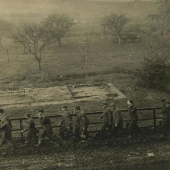 Nederlands Bevrijding; afvoeren Duitse krijgsgevangenen