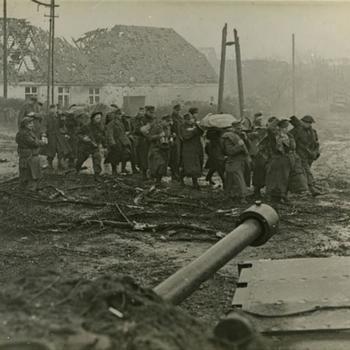 Duitse krijgsgevangen, Britse escorte bij Nütterder