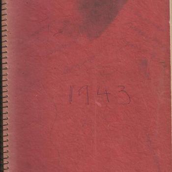 Dagboek over de periode van 1941-1945 van Peter Aarts    boekje 2