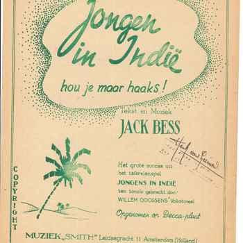 collectie Keesing, Jongen in Indië, hou je haaks! van Jack Bess