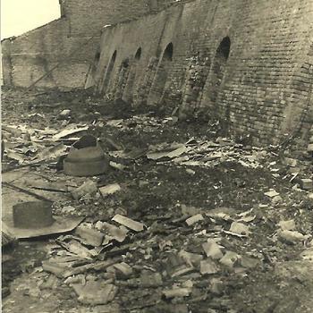 Steenfabriek Spijk, oven D gebombardeerd