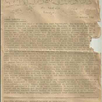 Tabinta - Koerier, 27 oktober 1949, no 6