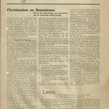 Jeugd  een uitgave van De Waarheid  1 mei 1945