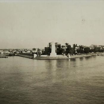Nederlands Indië; Suez Kanaal, gedenkteken, Ferdinand de Lesseps