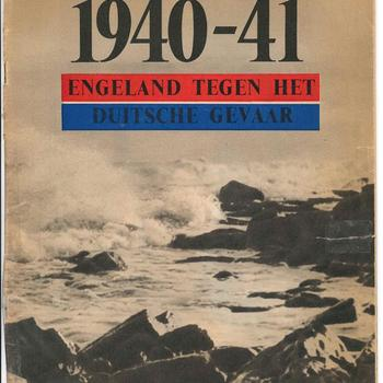 1940-1941 Engeland tegen het Duitsche gevaar