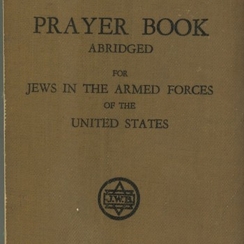 Prayer Book abridged for Jews in The Armed Forces of the United States