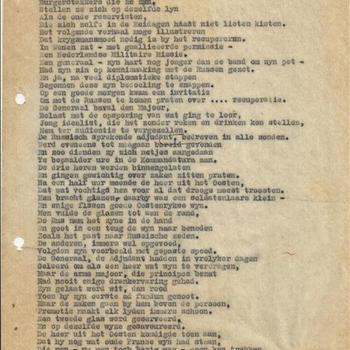gedicht - Zy die Duitsland frequenteren om er Nederlands bezit te reçupereren