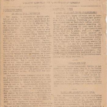 De Stem, Dagelijks Nieuwsblad voor 's-Gravenhage en Omstreken. 1e Jaargang, nummer 279, Donderdag 5 Mei 1945