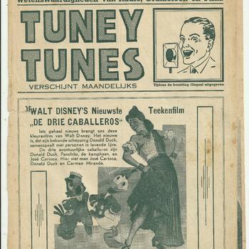 collectie Keesing, Tuney Tunes, No 20, 6 september 1945