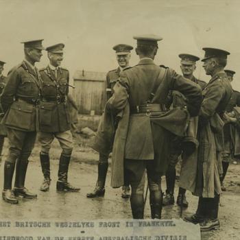 WO I; Groep Britse officieren