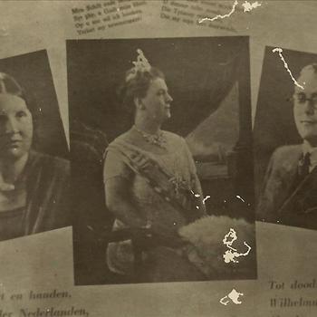 Prinses Juliana, Koningin Wilhelmina, Prins Bernhard, teksten
