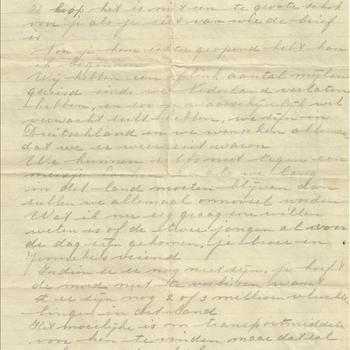 Vertaling van de brief met no 5.3.1257, Brief van Len Summers aan C. van Zandwijk, gedateerd June 3rd