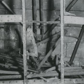 Foto cockpitframe Amerikaans Waco CG-4A zweefvliegtuig te Overasselt.