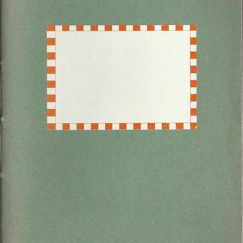 dagboek  schrift no 8 - dhr van Lieshout -