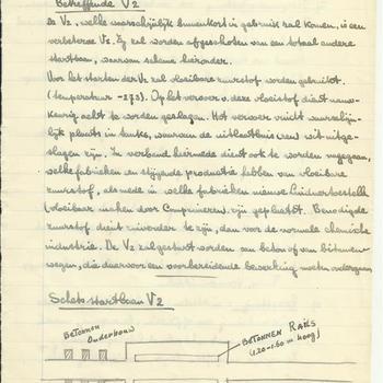 Aantekeningen van Ben Otten betreffende informatie over Duitse troepenbewegingen. Deze zijn doorgegeven aan een tabaks(?)winkeltje in de Ziekenstraat in Nijmegen