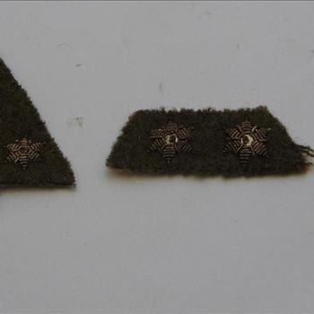 embleem, stof, Nederland, ( KNIL), rangonderscheidingsteken