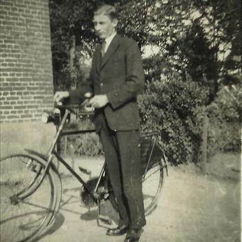man, fiets