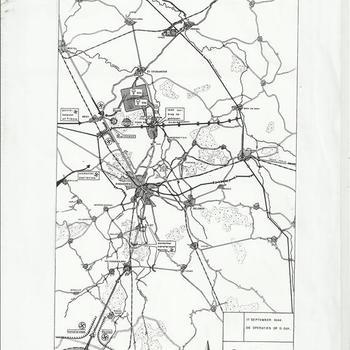 Collectie Van den Bergh, geografische kaartjes battlfield tours