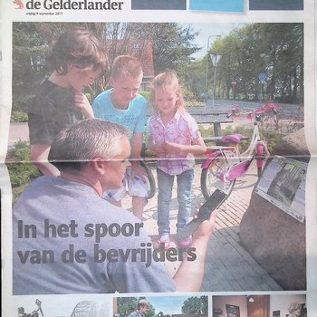 Bijlage bij De Gelderlander, 9 september 2011