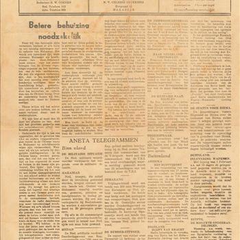 Makassaarsche Courant, maandag 27 januari 1947, 42e jaargang no 21