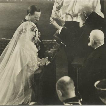 Koninklijke Huis; kerkelijke inzegening huwelijk Prinses Juliana