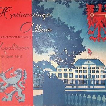 Herinneringsalbum gewijd aan de bevrijding van Apeldoorn