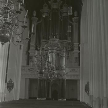 St. Stevenskerk. Orgel