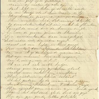 brief, De onbekende soldaat