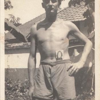 Nederlandse soldaat, waarschijnlijk Bernardus Heymans uit Nijmegen