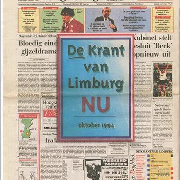 Limburgs Dagblad. zaterdag 8 oktober 1994