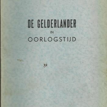 De Gelderlander in Oorlogstijd