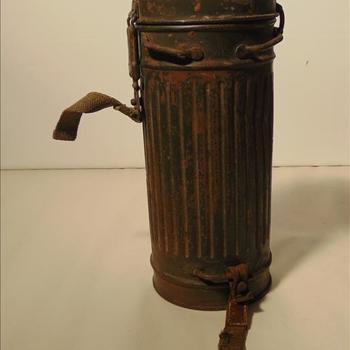 gasmasker, compleet, Duits