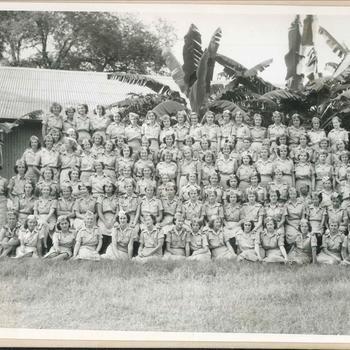 1ste Compagnie Batavia, Vrouwenkorps te Nederlands-Indië, KNIL
