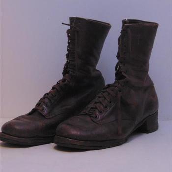 schoenen, behorende bij uniform verpleegster