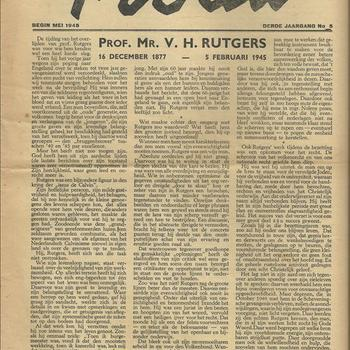 Trouw Begin Mei 1945 Derde jaargang no 5