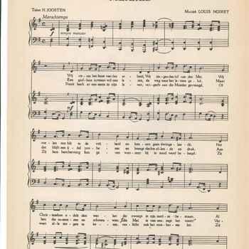 collectie Keesing, Meilied, H. Joosten en Louis Noiret, 1947