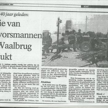 Actie van kikvorsmannen bij Waalbrug mislukt