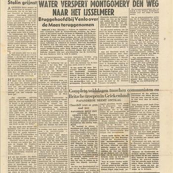 Het Nationale Dagblad, woensdag 6 december 1944