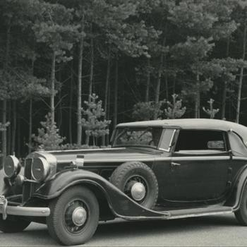 auto van Veldmaarschalk Rommel uit film: De Langste Dag