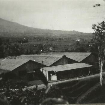 Nederlands-Indië; Marva, gebouw, Theefabriek