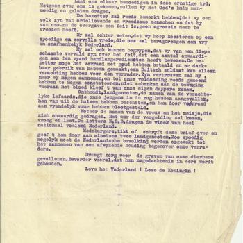Anonieme brief verzet