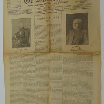 """""""De Standaard Antirevolutionair Dagblad voor Nederland van Woensdag 3 april 1926"""" No.17473"""
